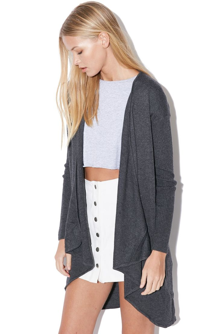 MINKPINK Waterfall Cardi Black