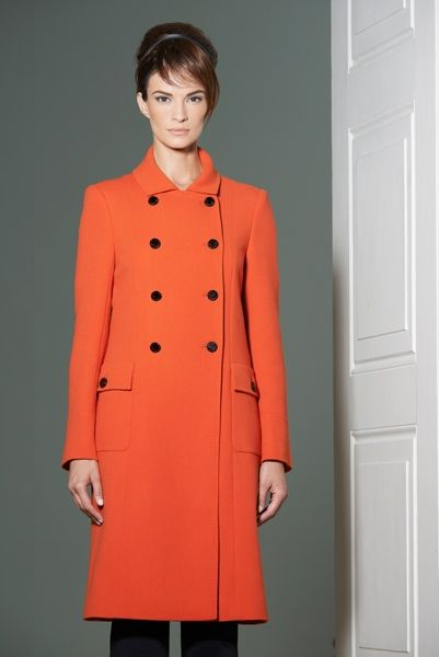 Louise Kennedy - Collection Raven Amber Double Breasted Coat