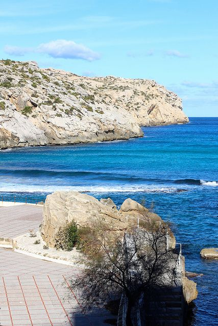 Stunning views during the walk from Puerto Pollensa to Cala San Vicente http://inmyshoestravel.com/walk-to-cala-san-vicente/
