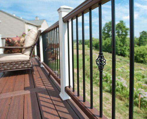 decorative aluminum railing. Best 25  Trex railing ideas on Pinterest decking colors and Composite