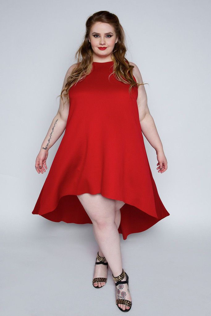 Size 1 red dress in pretty