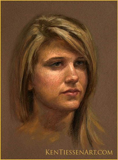 275 best pastels images on pinterest pastel paintings chalk how to draw pastel portraits painted this girl beforeme time ago ccuart Images