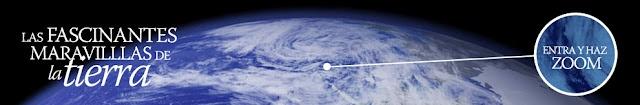 El especial Día de la Tierra de lainformacion.com ofrece un recorrido por los rincones más espectaculares del planeta con imágenes espectaculares de satélites  y una herramienta de zoom que permiten observar la tierra en todo su esplendor.