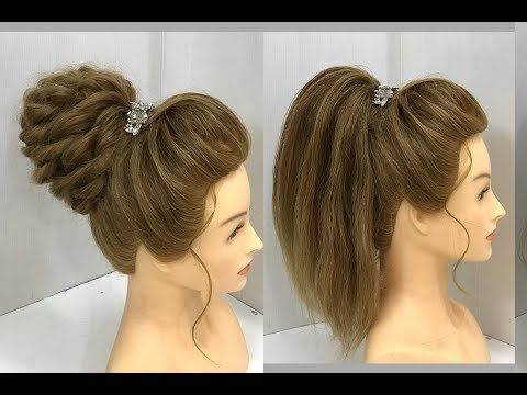 Easy Party Hairstyle 2019 For Girls Hair Style Girl Hairstyles Best Hairstyles For Long Hai Medium Length Hair Styles Party Hairstyles Medium Hair Styles