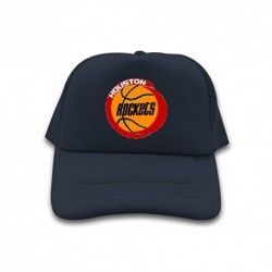 NavyPopular Trucker Hat NBA Logo 2016 Houston Rockets 100% cotton Sun cap for mens womens