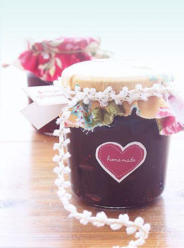 Free jam and jellies mason jar printables