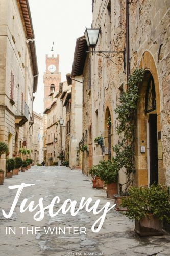 Winter in Tuscany. Things to do in Pienza. Tuscany and Italy Travel #Italy