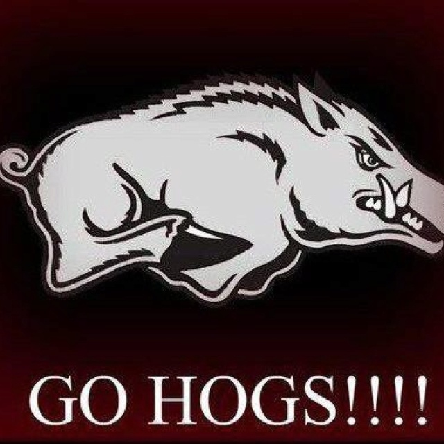 Go Hogs!!!! Razorback Stuff Pinterest