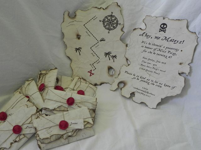 Cool pirate invitation #pirate #invitation