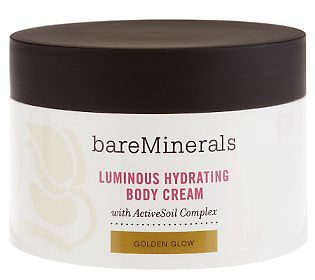 Give your skin the star treatment with @bareMinerals Luminous Hydrating Body Cream! #naturalBEauty