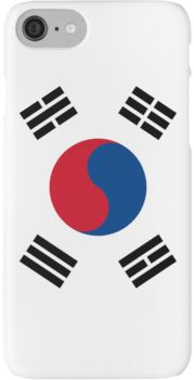 South Korea Flag iPhone 7 Cases