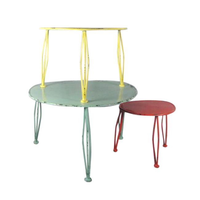Carnival Nest Tables Round