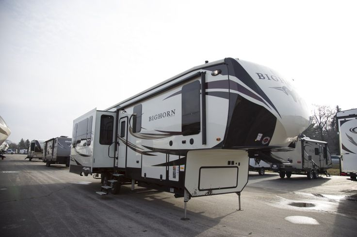 "BETTER TRAVEL!!!  2017 Heartland Bighorn 3575EL When you venture out in this rig you're not just going RVing, you're taking on a whole new lifestyle that's defined by picturesque views, fresh outdoor air, and unforgettable moments spent with the ones you love. Take off in the comfort of this 39' 4"" long, 12,950 lb fifth wheel today! Give our Bighorn expert John Sobczak a call 231-903-6220 for pricing and more information."