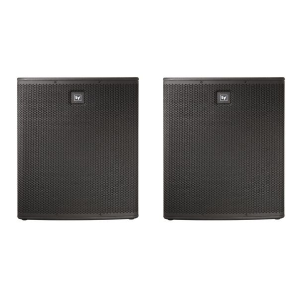 These are what I kill em with! I love my babies. Electro-Voice ELX112P Subwoofers