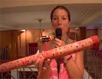 créer un bâton de pluie pour carnaval