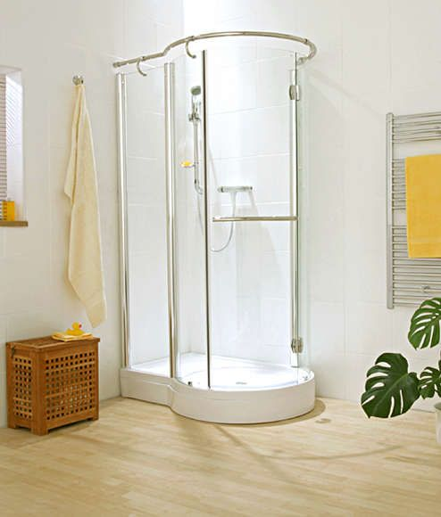 Polished Brass Curved Shower Curtain Rod Safety Shower Curtains