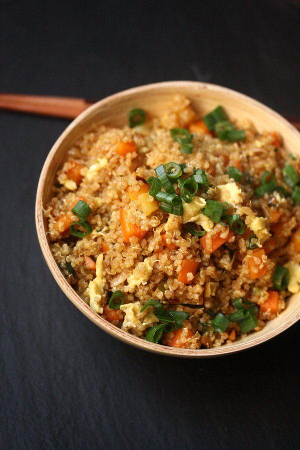 Easy Quinoa Fried Rice - Cooking Quinoa