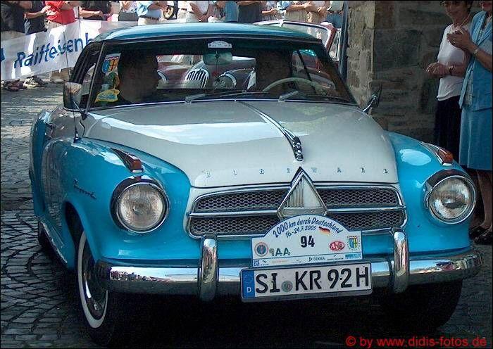 """Rheinbach 2005 - Oldtimer-Rallye: Borgward """"Isabella"""""""