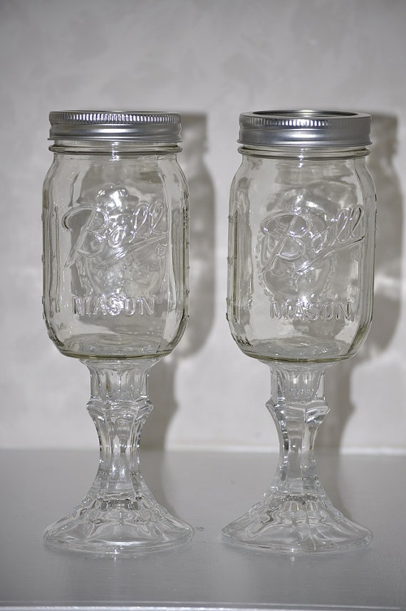 Set of 12 Southwestern Wine Glasses Redneck by southerncharmds, $93.00