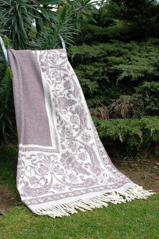 Neptune, Wool/ Possum Throw