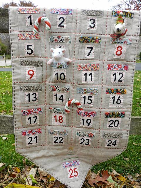 Liberty And Linen Advent Calendar Molly Flanders Free