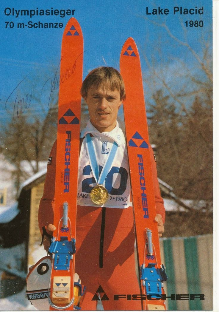 Anton Toni Innauer  Skispringen  Autogrammkarte original signiert  EC  280688