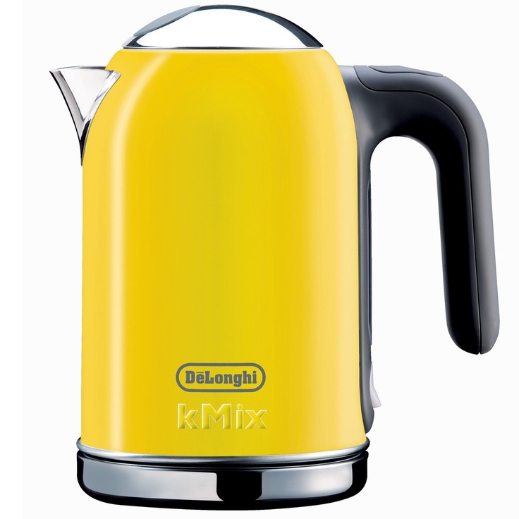 delonghi kmix 54 ounce yellow kettle by delonghi the o. Black Bedroom Furniture Sets. Home Design Ideas