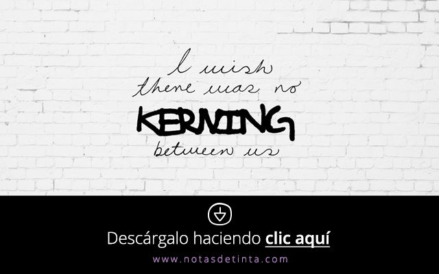"""I wish there was no kerning between us"" - Quote - Free Wallpaper by @esamtz"