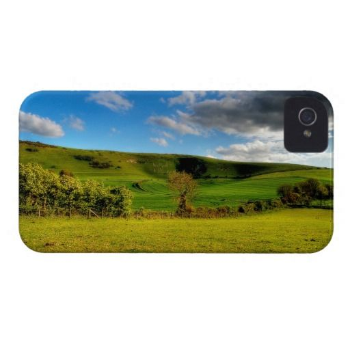 """The Long Man of Wilmington :- The famous """"Long Man of Wilmington"""" stands just on the outskirts of the ancient village of Wilmington in Sussex, England. There is a lot of speculation about its age. Some believe it dates back many centuries and others think it's relatively new (just a few 100 years or so). Cover For The iPhone 4. #iPhone4 #chalk #figure #carving #hill #downs #sussex #england #chalkfigure #man #ancient #old #historical #mystery #wilmington"""