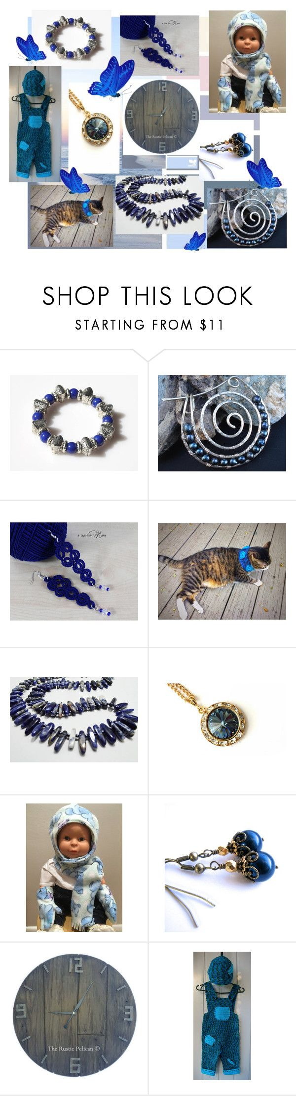 """""""I love the blue!"""" by lwitsa62 ❤ liked on Polyvore featuring interior, interiors, interior design, home, home decor and interior decorating"""