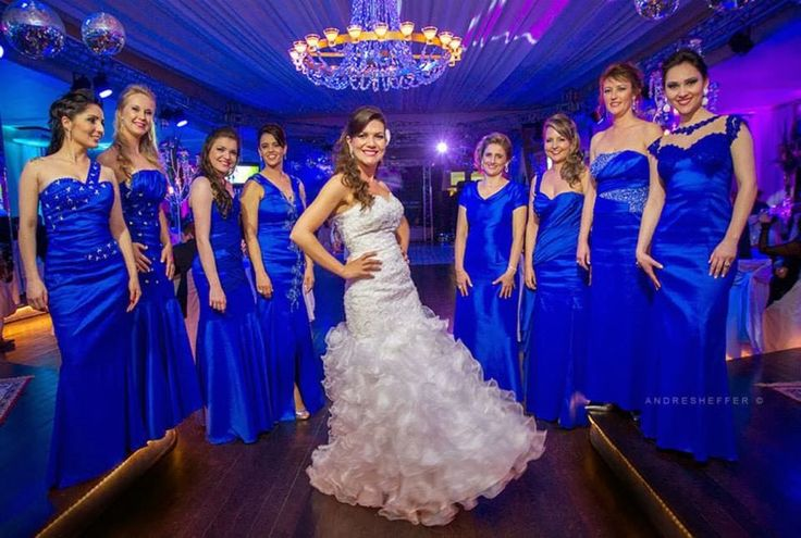 vestido madrinhas azul royal - Pesquisa Google
