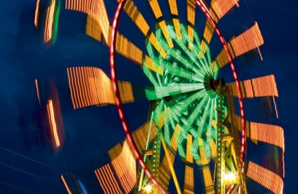 Since 1950, the Washington County Fair in Abingdon, VA hosts so many fun carnival rides for festival-goers! See more on the fair here...