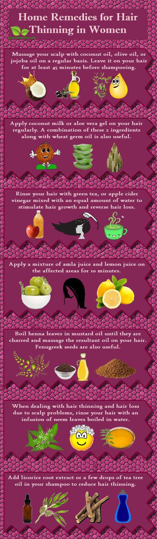 Home remedies for Thinning Hair