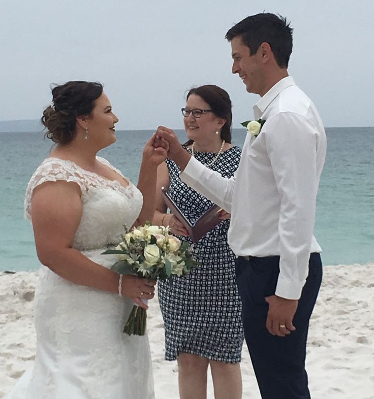 This wedding was on Hyams Beach, NSW. This couple got a beautiful day to share with their close family & friends very intimate and loving.