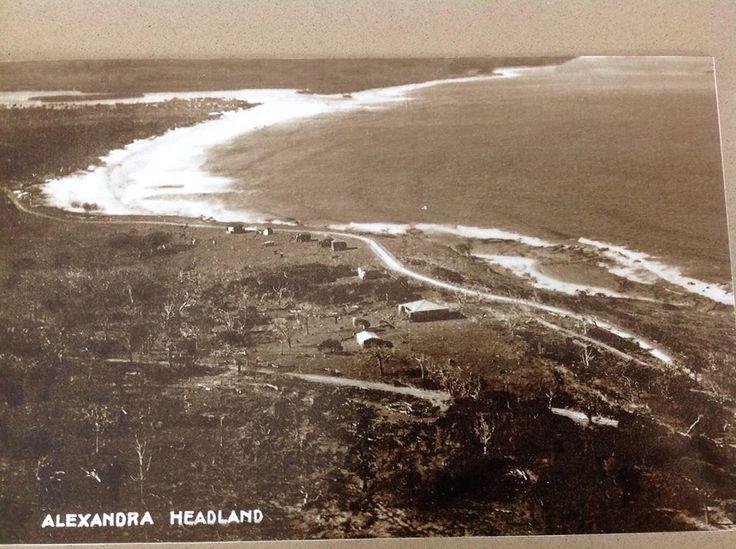 ALEXANDRA HEADLANDS/MAROOCHY RIVER MOUTH BEFORE DEVELOPMENT