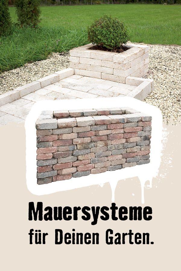 Du Suchst Noch Steine Für Dein Mauersystem Hier Findest Du Alles