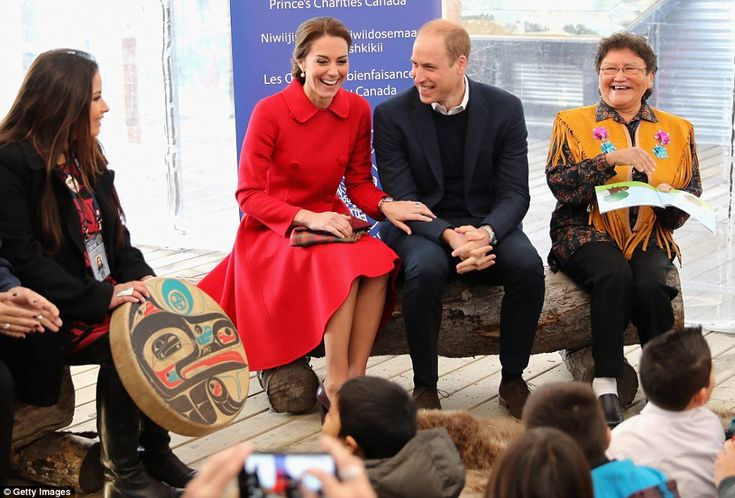 Kate couldn't help but laugh as she and William listened to stories read by elders in the ...