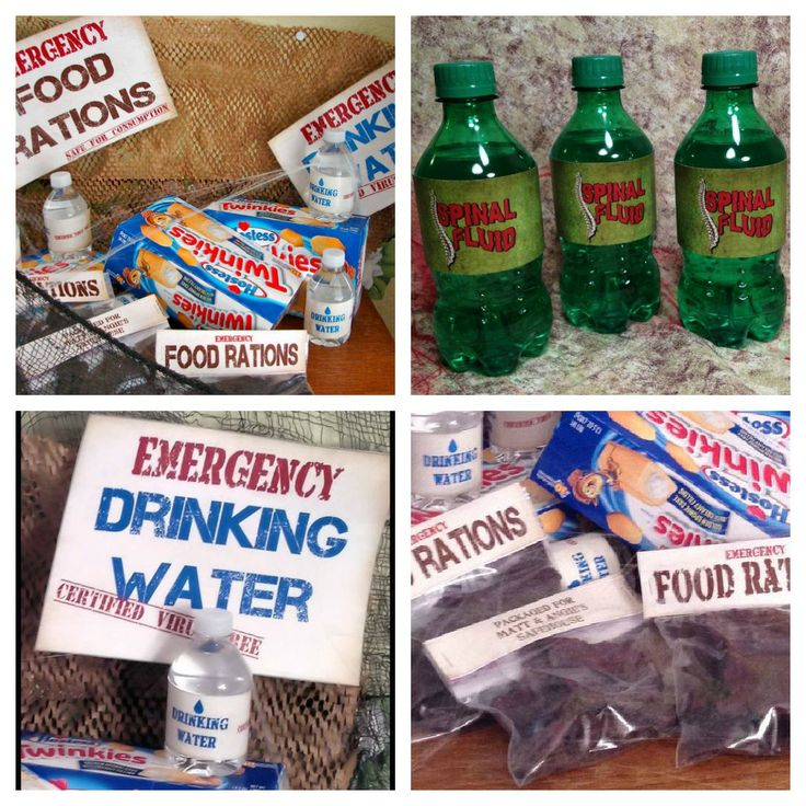 a well crafted party real party zombie apocalypse - Zombie Party Supplies