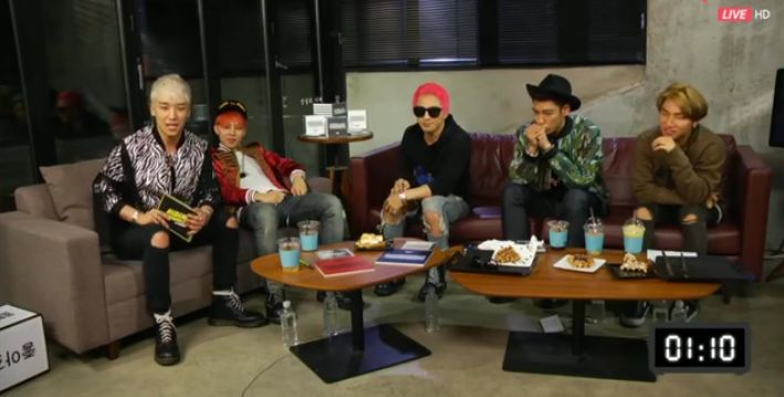 BIGBANG Announces Plans for Individual Broadcasts on Naver