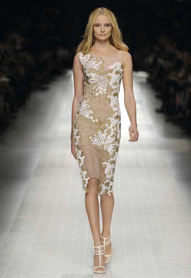 Macramè Butterflies - Blumarine Spring Summer 2014 Fashion Show #mfw