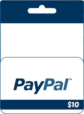 $10 PayPal Gift Card