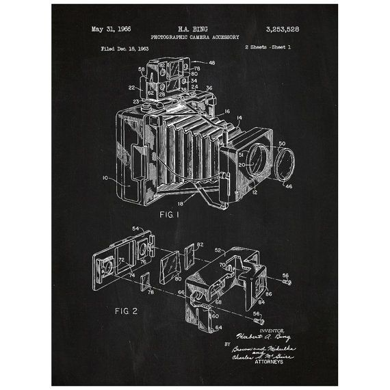 16 best patents images on pinterest camera posters and bedroom camera vintage patent poster screen print decoration technical invention design blueprint schematic retro educational cool screenprint malvernweather Gallery