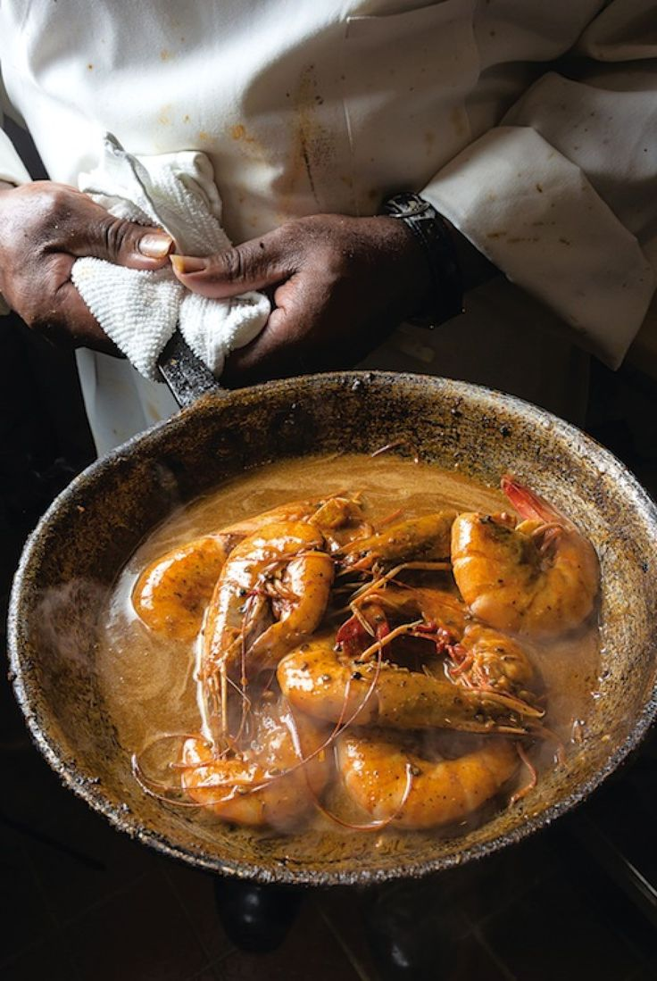 Mr. B's Barbecued Shrimp Recipe | SAVEUR-Jumbo peel-and-eat shrimp are bathed in a tangy, spicy butter in this classic dish. This recipe first appeared in our April 2013 special feature on New Orleans.