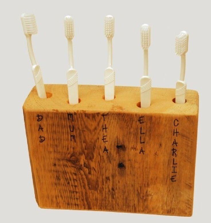 7 DIY Toothbrush Holders Ideas