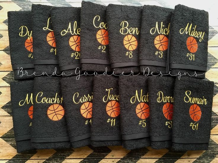 LARGE Personalized Sports Towel/Embroidered Sports Towel/Sweat Towel/Hand Towel/School Sports Towel/Volleyball/Soccer/Basketball by BrendaGoodierDesigns on Etsy https://www.etsy.com/listing/248100547/large-personalized-sports