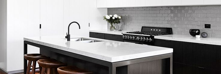 Smartstone Athena in kitchen by Horton & Co Design