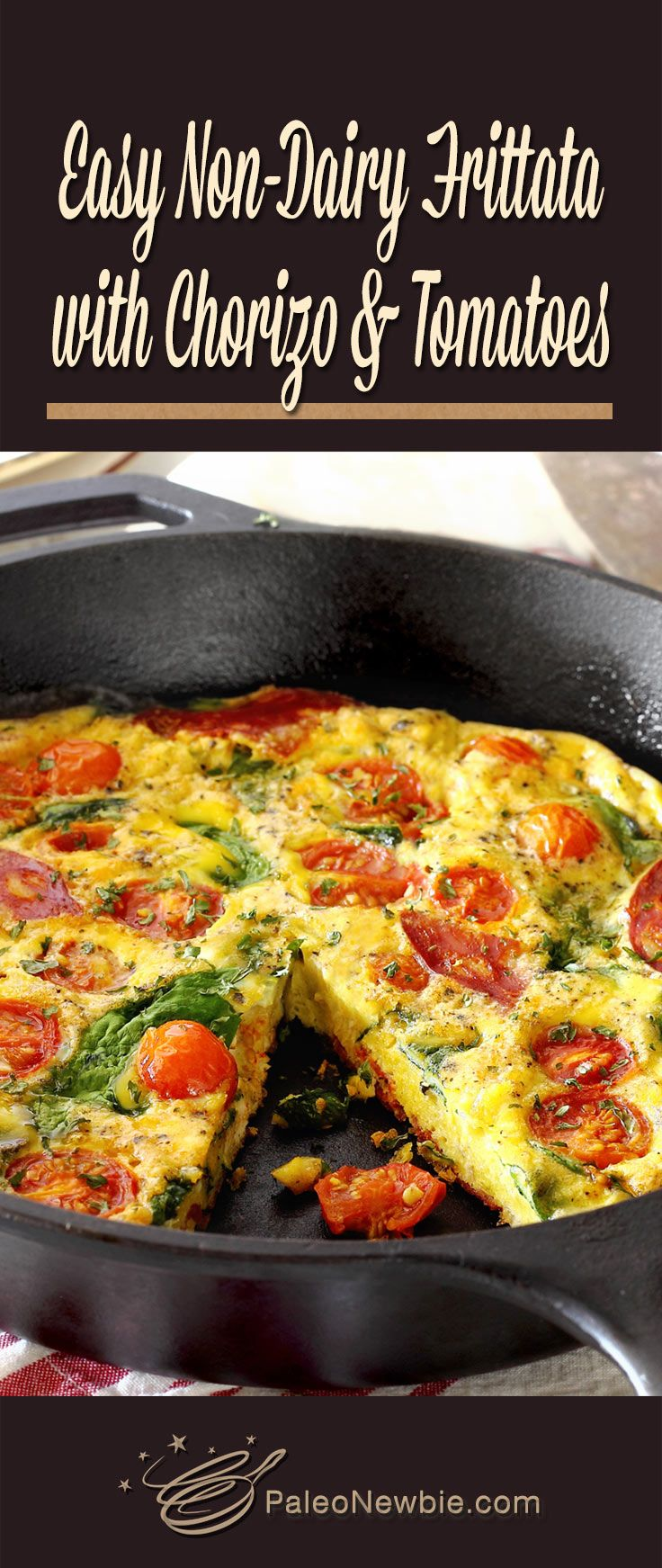Never made a frittata before? This super-simple recipe will make you an expert at this gorgeous one-skillet breakfast on your very first try! [Paleo • Dairy-Free • Gluten-Free]
