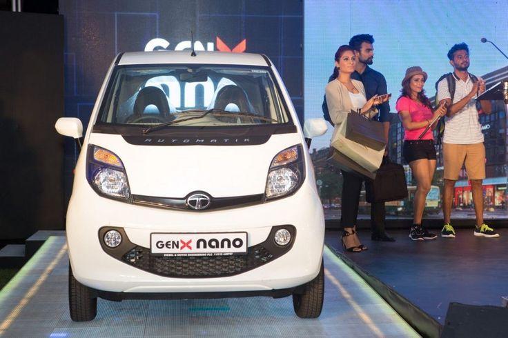 Tata Nano GenX Automatik launched in Sri Lanka