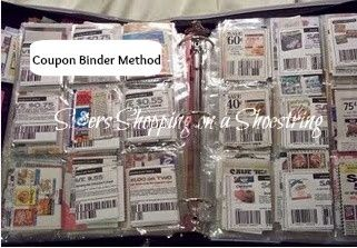 Organizing Coupon Binder http://www.sistersshoppingonashoestring.com/coupon-binder-organizing-coupons-with-the-binder-method
