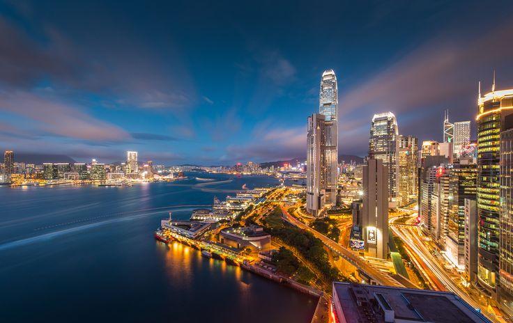 Hongkong Victoria bay by Coolbiere. A., via 500px